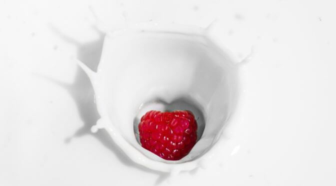 Mléko a mléčné výrobky patří ke zdravému přibírání